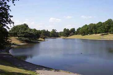 Pictures of Sefton Park..